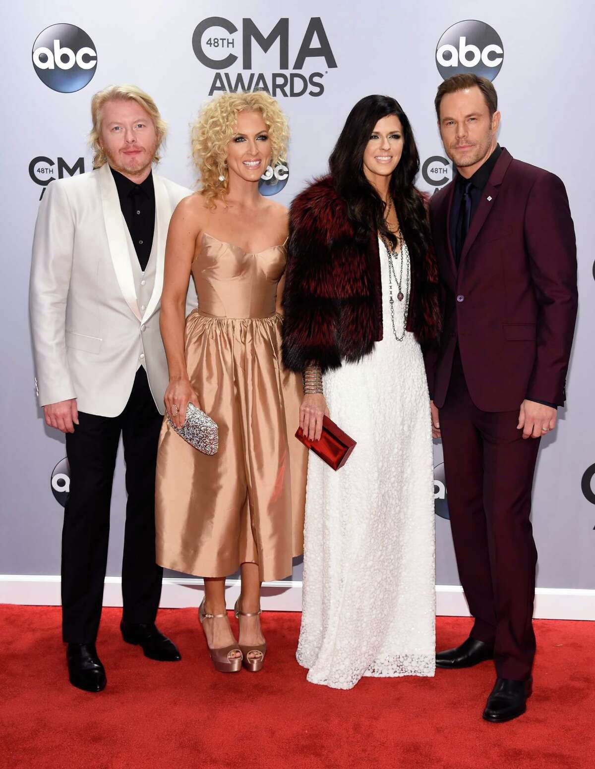 Little Big Town looks like they bought all their clothes on the Vegas Strip.