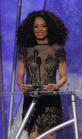 "LOS ANGELES, CA - NOVEMBER 14:  Singer Diana Ross presents the award for ""Favorite Male Artist- Soul/Rhythm & Blues"" on stage during the 32nd Annual ""American Music Awards"" at the Shrine Auditorium November 14, 2004 in Los Angeles, California.  (Photo by Frank Micelotta/Getty Images) Photo: Frank Micelotta, Getty Images / 2004 Getty Images"