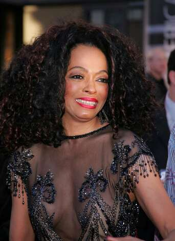 "LOS ANGELES, CA - NOVEMBER 14:  Singer Diana Ross arrives to the 32nd Annual ""American Music Awards"" at the Shrine Auditorium November 14, 2004 in Los Angeles, California.  (Photo by Carlo Allegri/Getty Images) Photo: Carlo Allegri, Getty Images / 2004 Getty Images"