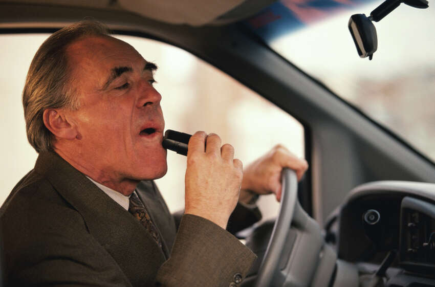 Shaving: We get it, you are busy and in a rush and have to get rid of that stubble before you race in to that very important meeting. How about this: the next time you are behind the wheel you have to make those faces without the razor.