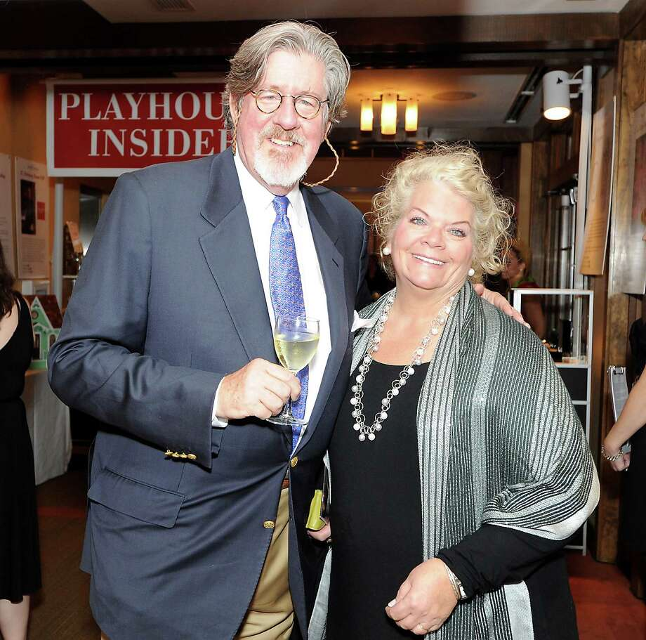 "Edward Herrmann, seen with his wife, Starr, will perform in a script reading of ""Trying"" Monday, Nov. 10, at the Westport Country Playhouse. Photo: Contributed Photo, ST / Westport News"