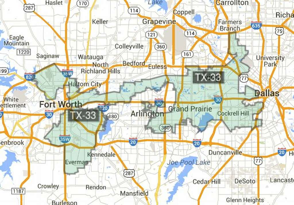 Federal Court Orders Texas To Redraw Some State House Maps Due To - Map of texas us house of representatives