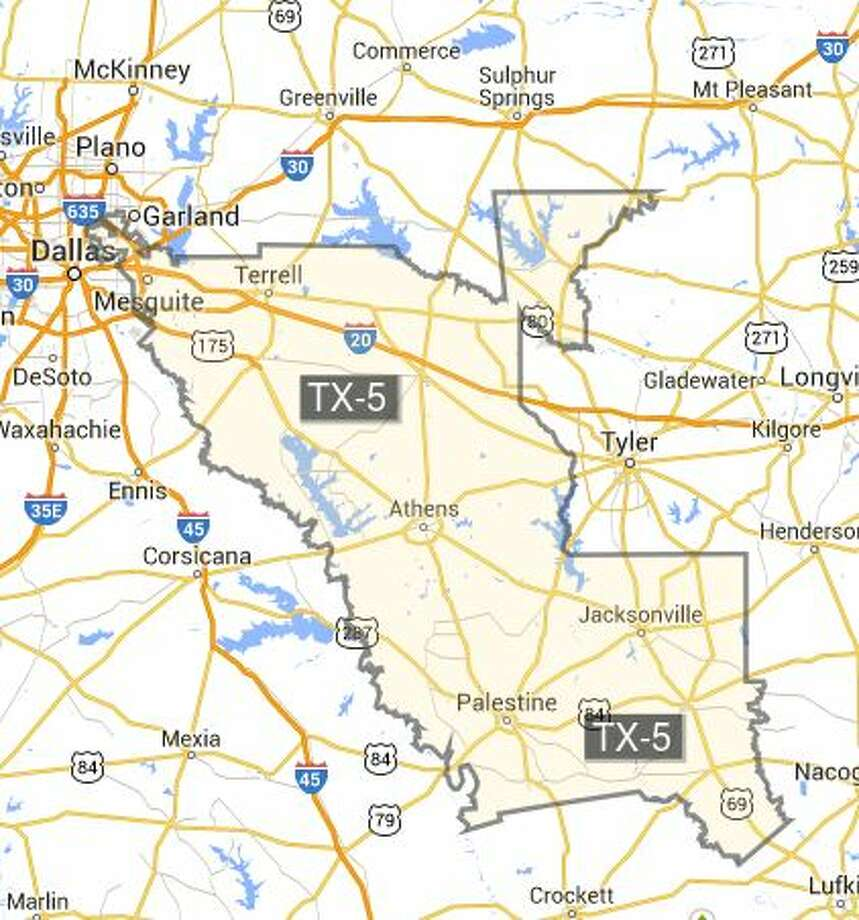Texas Congressional Districts Ranked From Most To Least