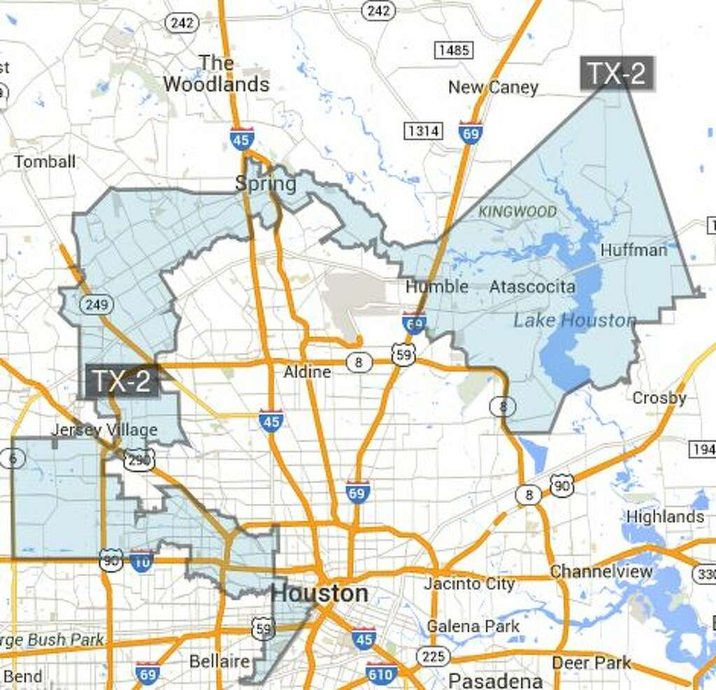This Is How Efficiently Republicans Have Gerrymandered Texas - Texas us house district map