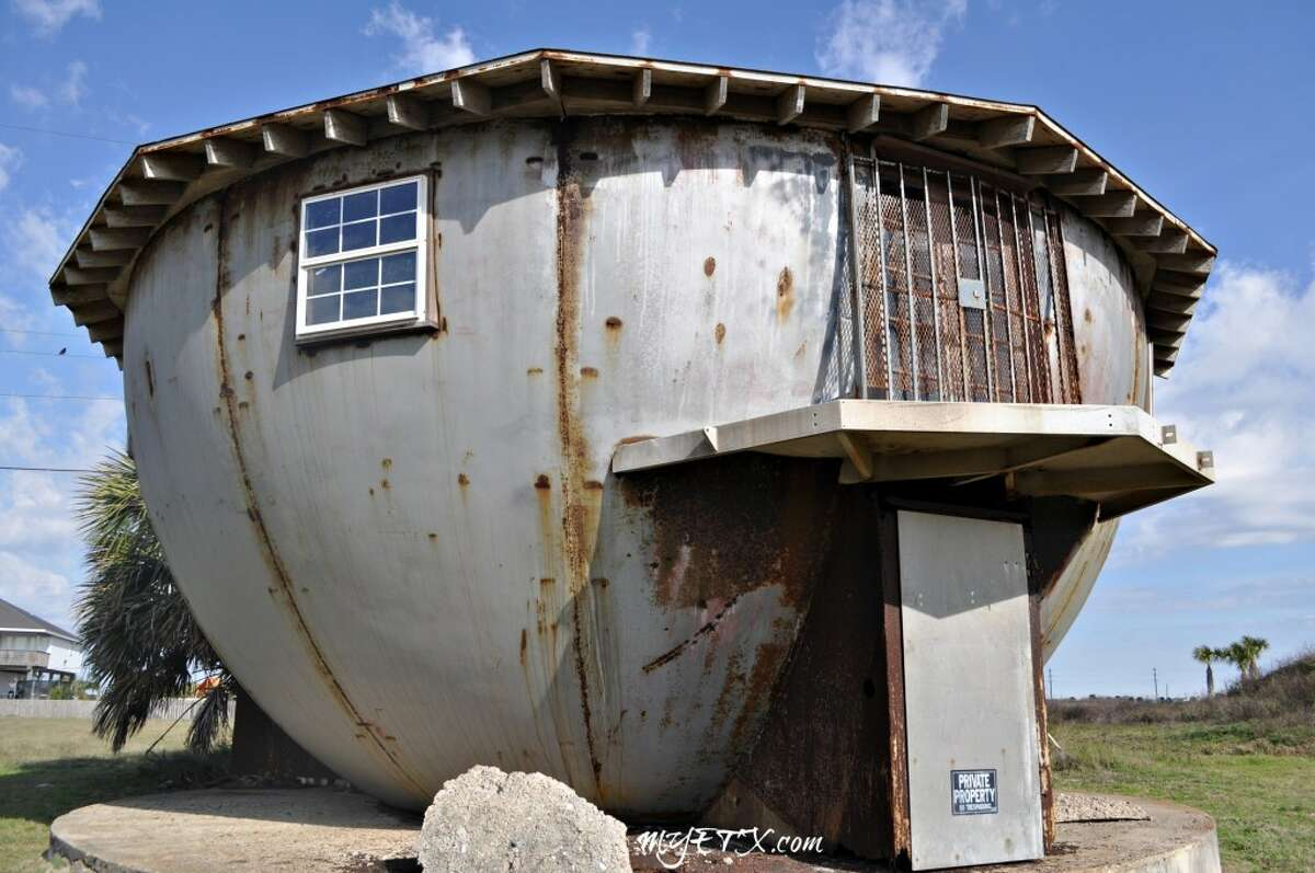 The historic Galveston 1960s Kettle House has been an island landmark for decades. The Cordray's said the home's unique shape and metal exterior were some of the biggest challenges they faced in transforming the property.