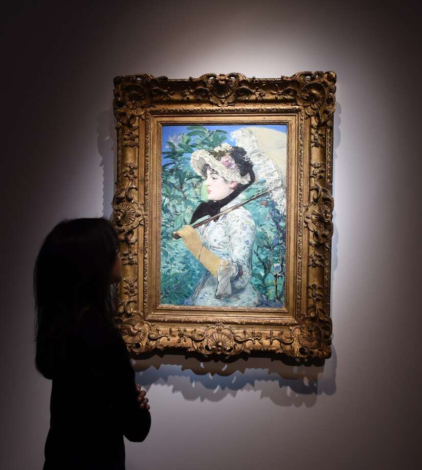 "Edouard Manet, who created ""Spring"" when he was considered at the height of his powers, is a pivotal figure because of his subjects and how he painted them. Photo: DON EMMERT / AFP/Getty Images / AFP"