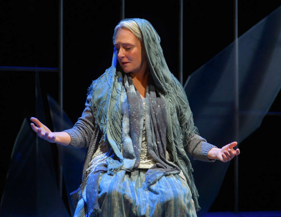 "Seana McKenna plays Mary, mother of Jesus, in Colm Tóibín's ""Testament"" at ACT. Photo: Kevin Berne / ONLINE_YES"