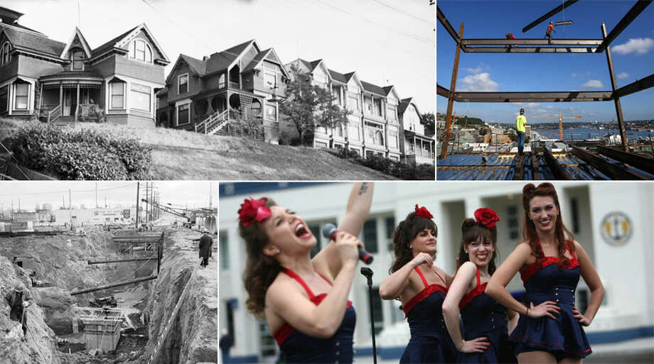 Click through for a look at South Lake Union through the years, as documented in photos from the archives of the city of Seattle, the Museum of History & Industry and Seattlepi.com.