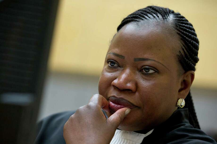 Prosecutor Fatou Bensouda waits for the start of the 2013 trial at the International Criminal Court in The Hague, Netherlands. Photo: Peter Dejong / Associated Press / AP Pool