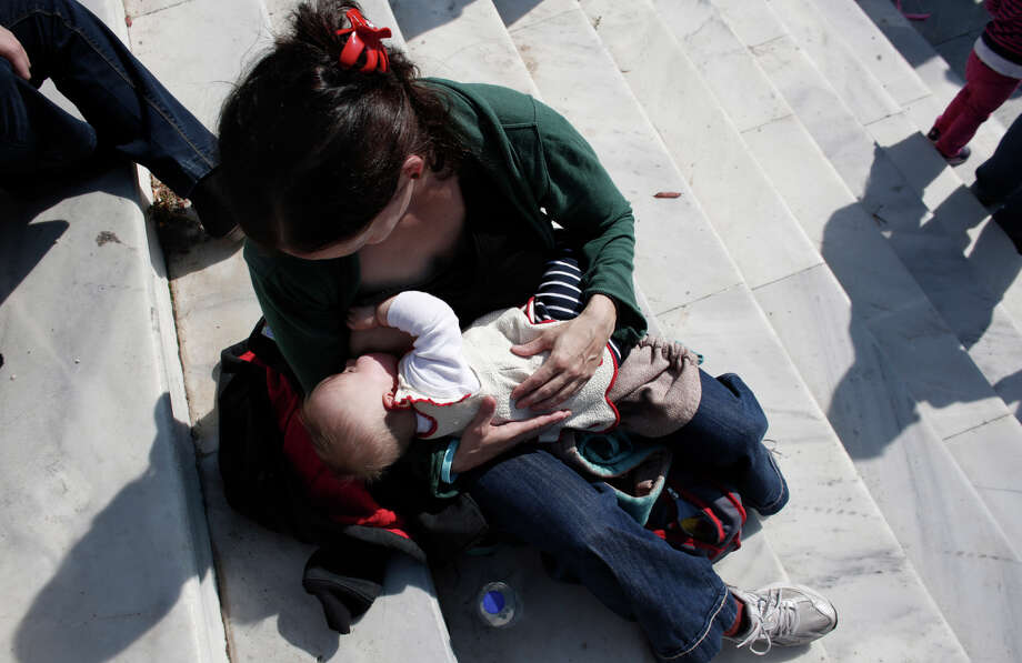 Mother's milk contains a hormone that can have profound effects on how babies develop, a study finds. Photo: Kostas Tsironis / Associated Press / AP