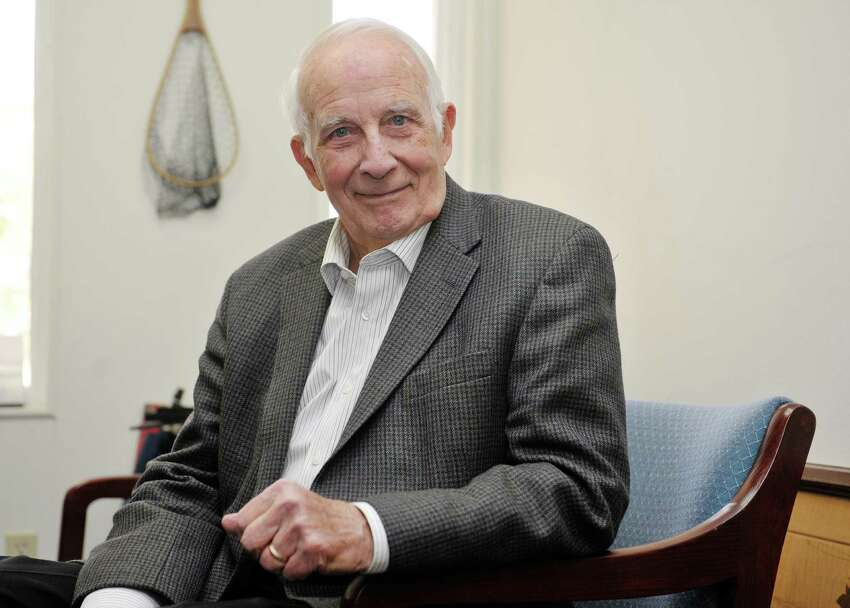 Walter Robb poses for a photograph at his office on Tuesday, Nov. 4, 2014, in Albany, N.Y. (Paul Buckowski / Times Union)