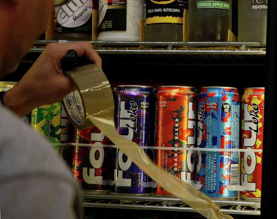 Caffeinated malt liquor Four Loko. Photo: Liz Hafalia / Liz Hafalia / The Chronicle / SFC