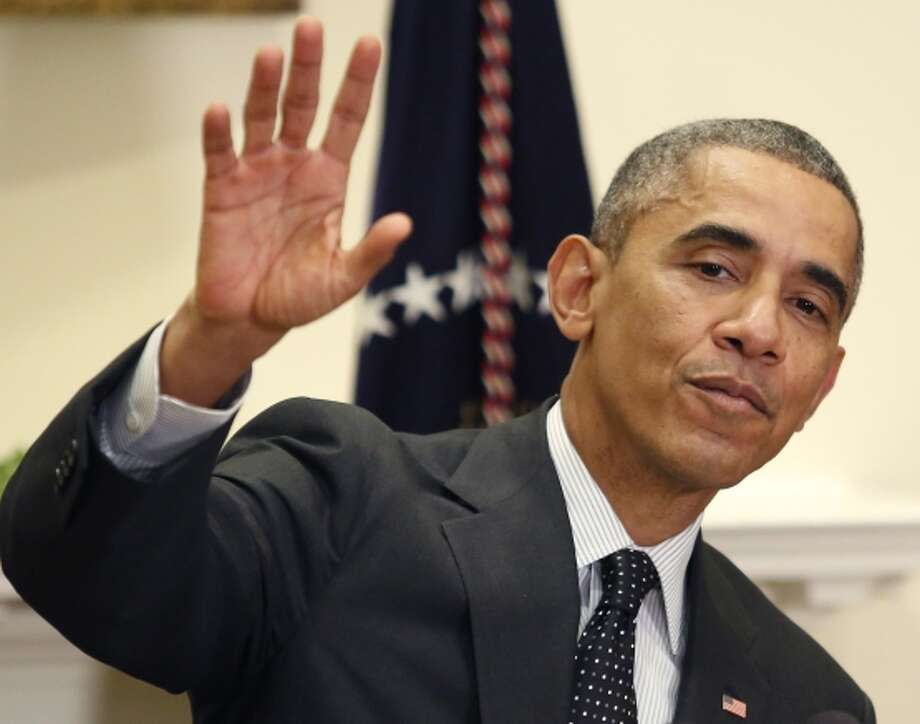 President Obama says he will work with GOP Sen. Mitch McConnell. Photo: YURI GRIPAS / AFP/Getty Images / AFP