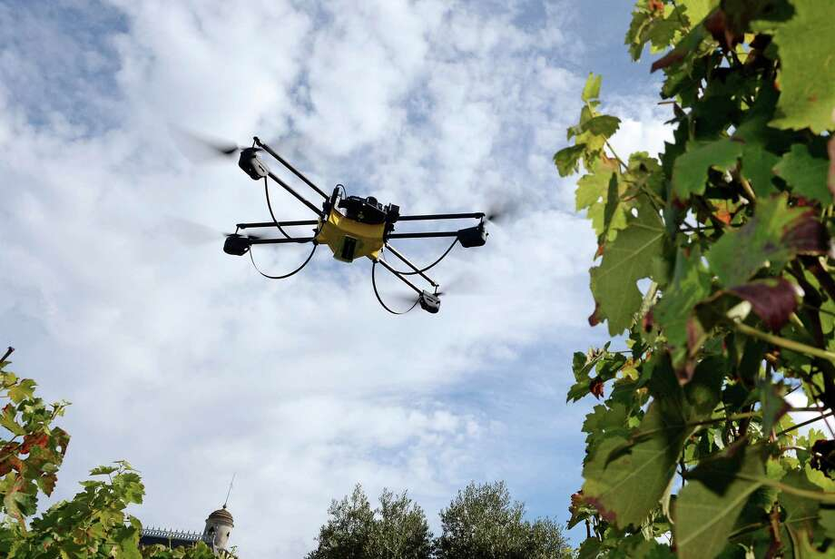 French authorities say the mystery drones are civilian, not military. Photo: JEAN PIERRE MULLER, Staff / AFP