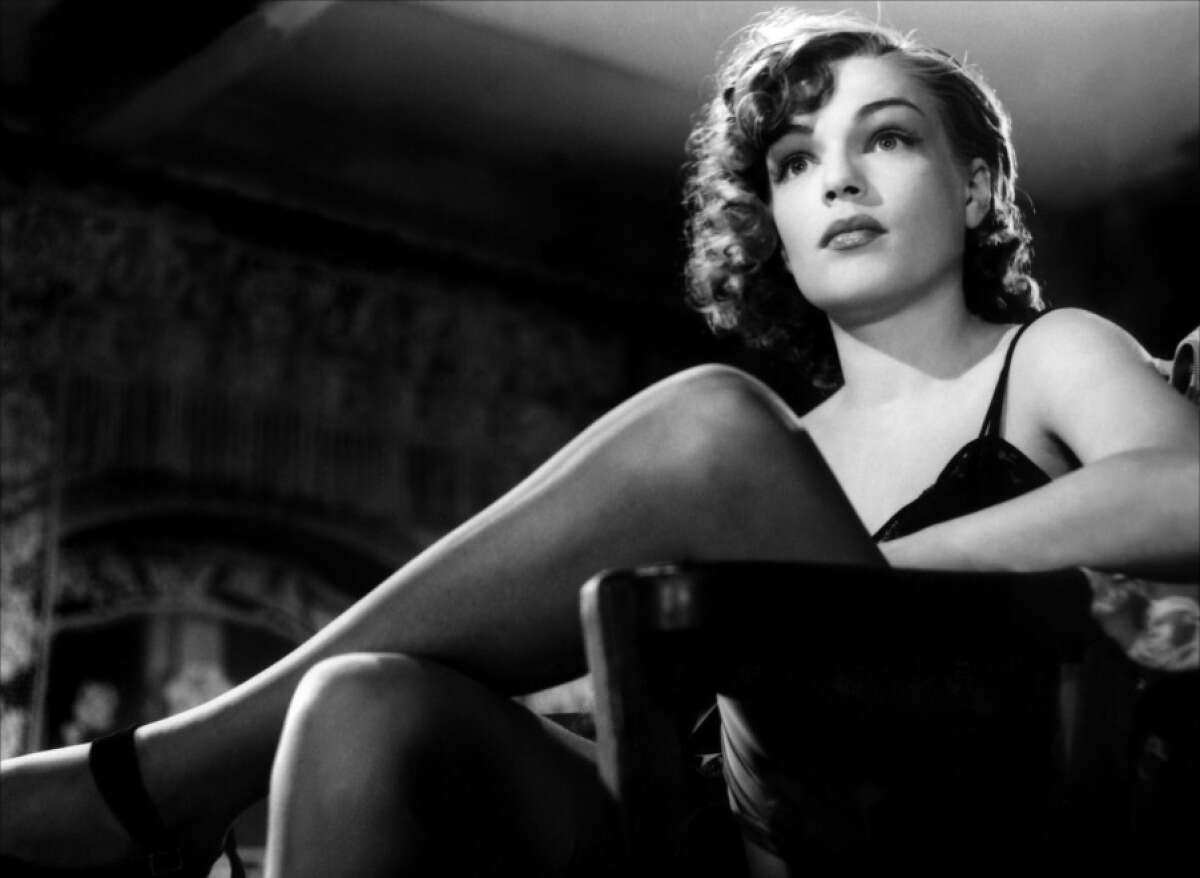 """Simone Signoret in """"Dedee D'Anvers"""" one of the films in The French Had a Name for it at the Roxie Theater"""