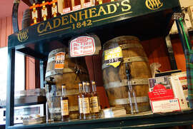 steves1102 Rick Steves  Above: Cadenhead's Whisky Shop in Edinburgh is a serious place to sample different types of whisky and have a small bottle filled from the cask of your choice.