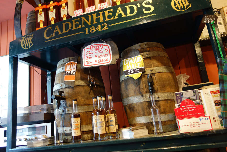 steves1102Rick StevesAbove: Cadenhead's Whisky Shop in Edinburgh is a serious place to sample different types of whisky and have a small bottle filled from the cask of your choice. Photo: Rick Steves / ONLINE_YES