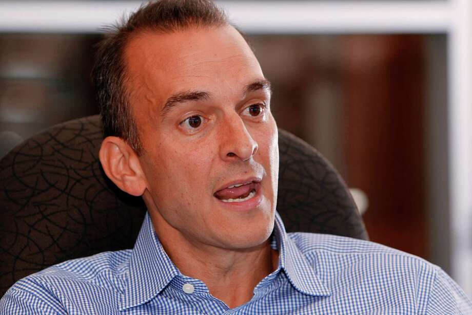 FILE - In this Oct. 16, 2012, file photo, Travis Tygart, the CEO of the U.S. Anti-Doping Agency, speaks during an interview at his office in Colorado Springs, Colo. An Associated Press analysis of the testing protocol, approved by the league and the NFL Players Association after more than three years of wrangling, found that only the most reckless or uninformed player would seem to have a chance of getting caught using HGH, which has become popular in a variety of sports for its supposed ability to enhance performance in various ways. Tygart and other leaders of the anti-doping movement agree that, while checking athletes for that specific performance-enhancer is better than not checking at all, testing alone merely skims the surface of what must be done to find cheaters _ especially given the limitations of a test that only is able to detect synthetic HGH in a person's system for 48 hours. (AP Photo/Ed Andrieski, File) ORG XMIT: NY173 Photo: Ed Andrieski / AP