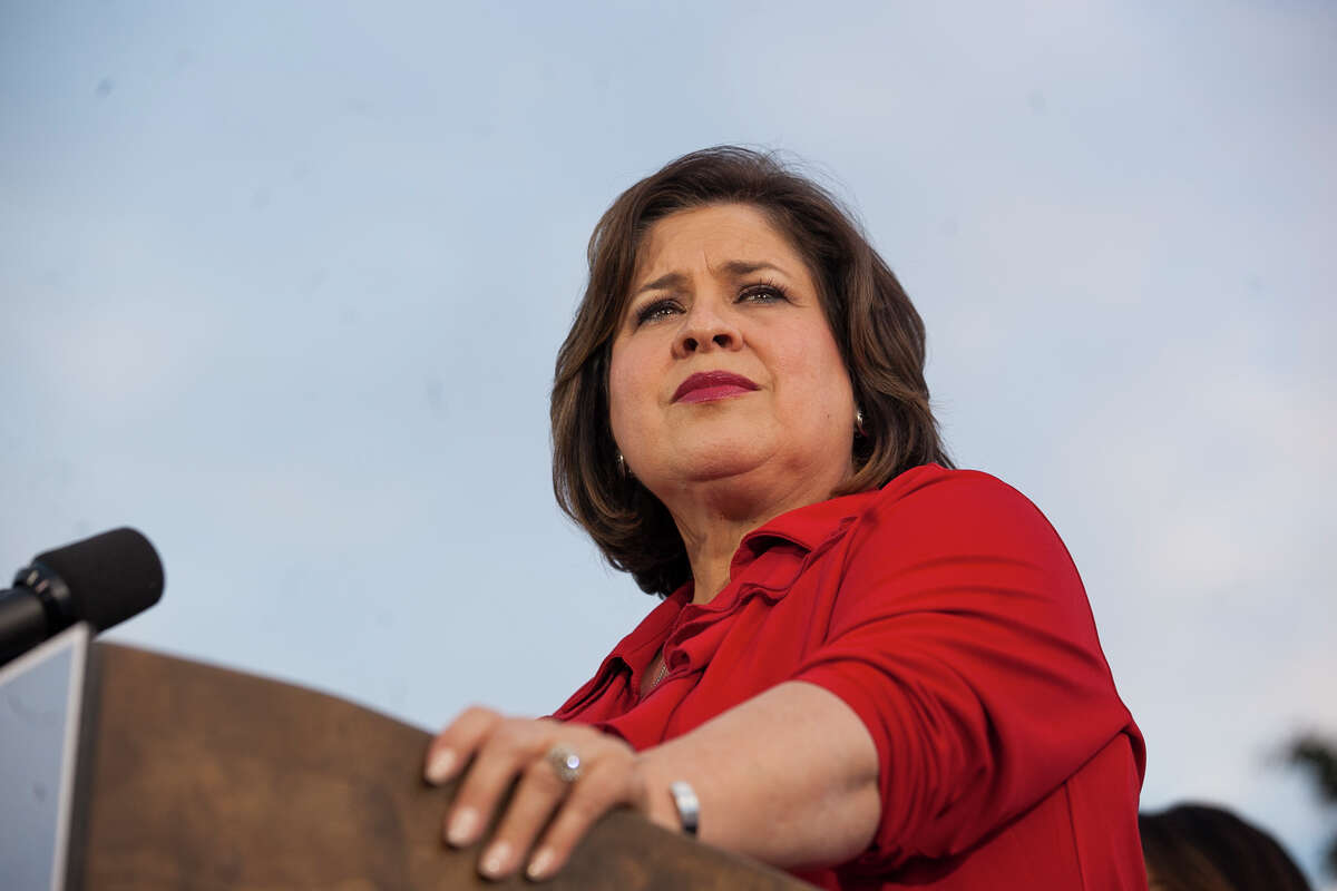 State Sen. Leticia Van De Putte has announced that she is running for San Antonio mayor and has left her seat in the Texas Senate. Van De Putte, D-San Antonio, was unsuccessful in her bid for lieutenant governor as the Democratic nominee.