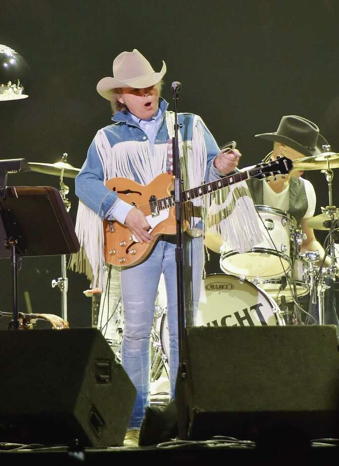 FILE:  Dwight Yoakam performs during the Outsiders World Tour at Madison Square Garden on October 17, 2014 in New York, New York. Photo: Mike Coppola, Getty Images For EB Media PR / 2014 Getty Images