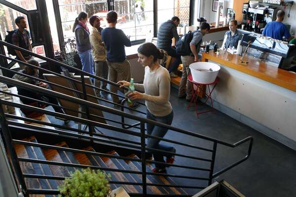 Coffee Bar (Multiple locations. Flagship is 1890 Bryant St., San Francisco)  Owned by the family behind Mr. Espresso, Coffee Bar's flagship location is a haven for freelancers and other laptop owners.