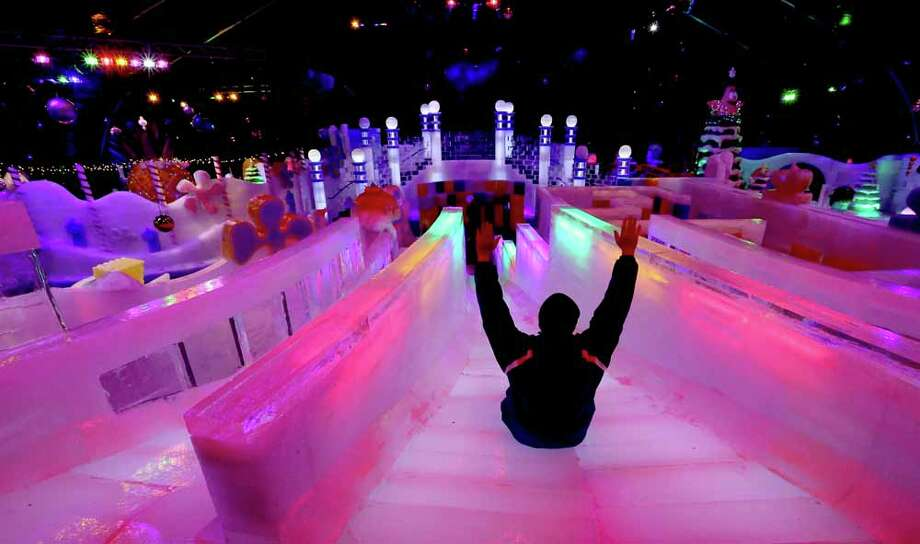 First Look At Ice Land At Moody Gardens Beaumont Enterprise
