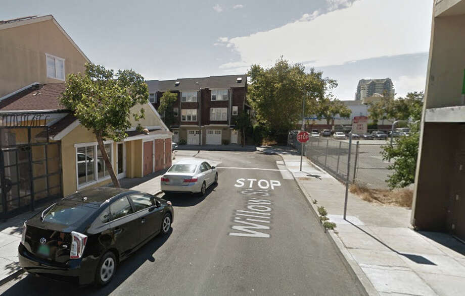 One man was killed, another injured,  at a shooting near the corner of Willow and Buchanan streets on Thursday evening Nov. 6, 2014. Photo: Google Maps