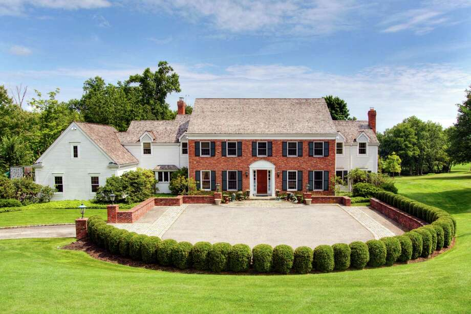 The property at 1 Wrenfield Lane is on the market for $3,475,000. Photo: Contributed Photo / Darien News