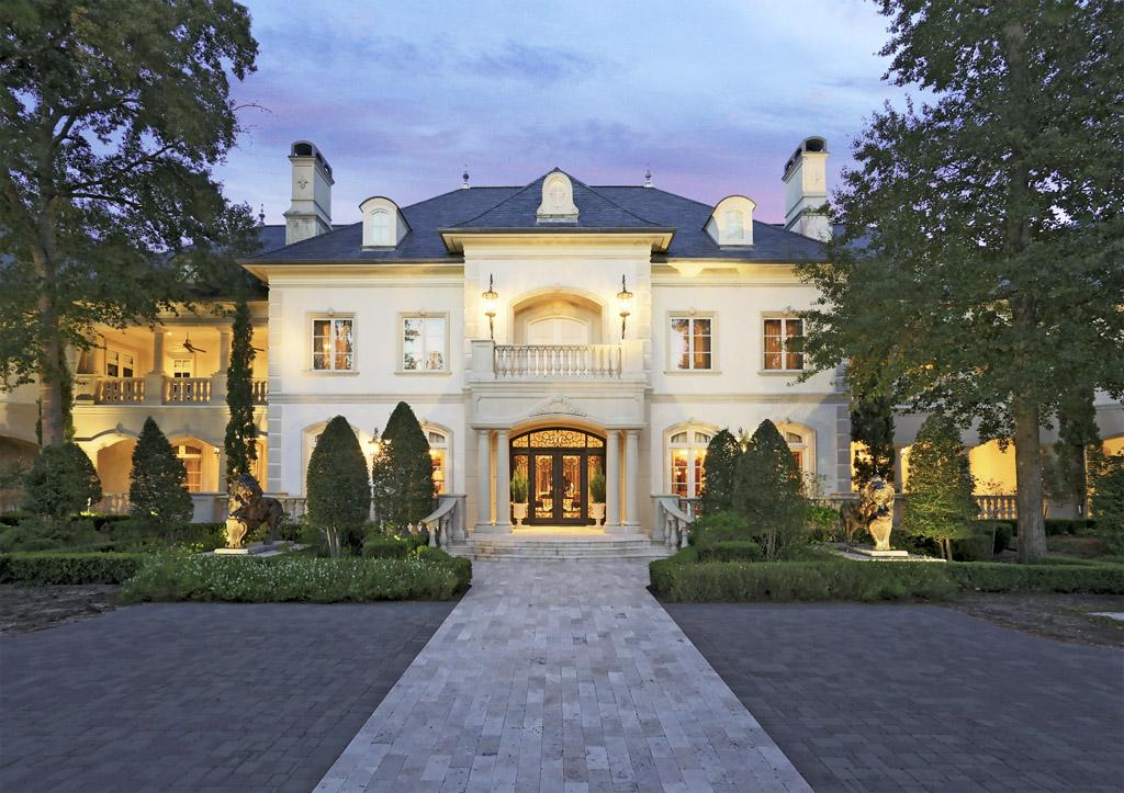 Look Inside A Stately 16 Million Woodlands Mansion