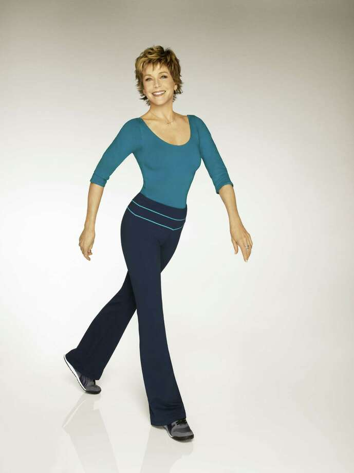 In 2010, at age 72, Jane Fonda released two exercise videos about staying active to stay fit. / handout / SAEN files