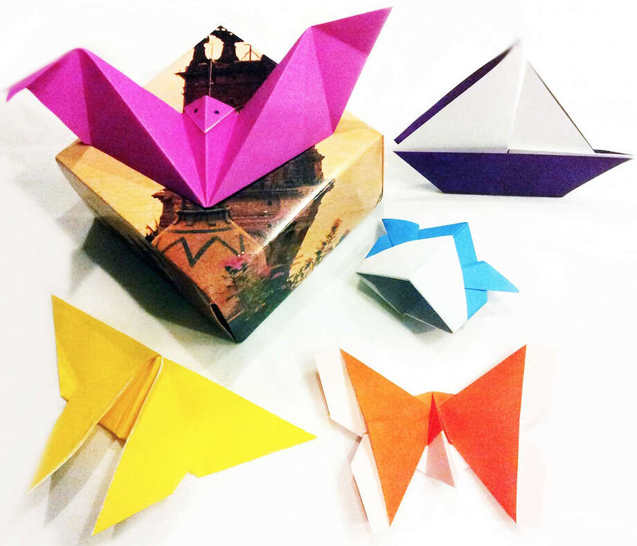 Kids and adults can learn to make origami at Saturday's Return and Remembrance: The Legacy of Veterans of WWII event. Photo: Museum Of Craft And Design / ONLINE_YES