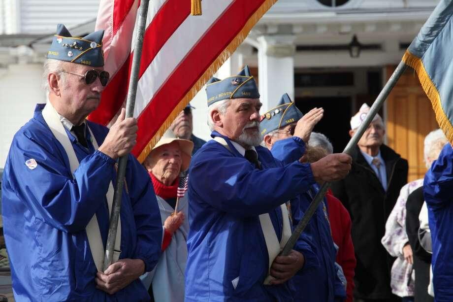 St Margaret Shrine holds its fourth annual Veterans Day Mass in Bridgeport, Conn.  on Monday,  November 11, 2013. Photo: BK Angeletti, B.K. Angeletti