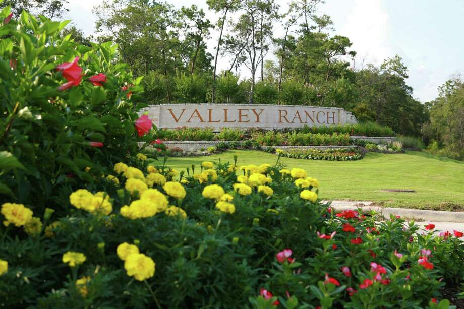 The entrance to the Valley Ranch community is along the west side of U.S. 59 north of Kingwood. The Grand Parkway eventually will bisect Valley Ranch. Photo: Courtesy Of Signorelli Co.