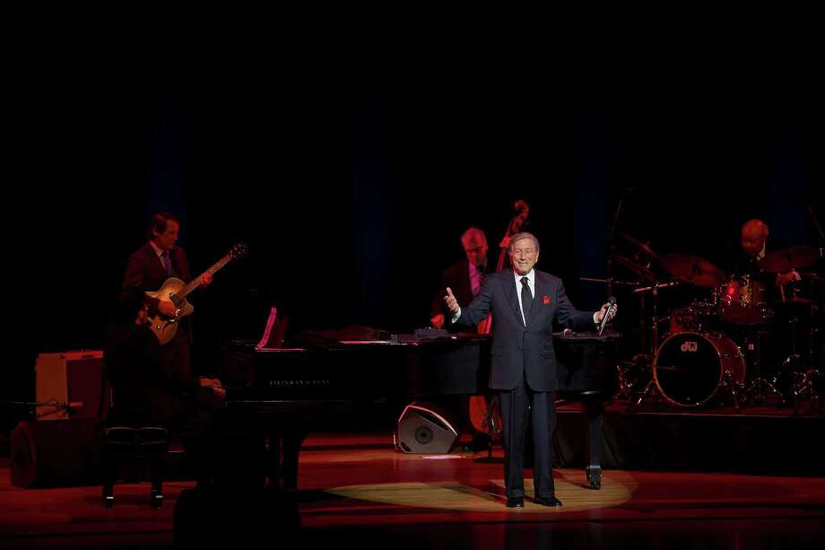 Tony Bennett wowed the audience at the first Houston Music with Friends evening at Hobby Center. Photo: Jenny Antill / JennyAntill