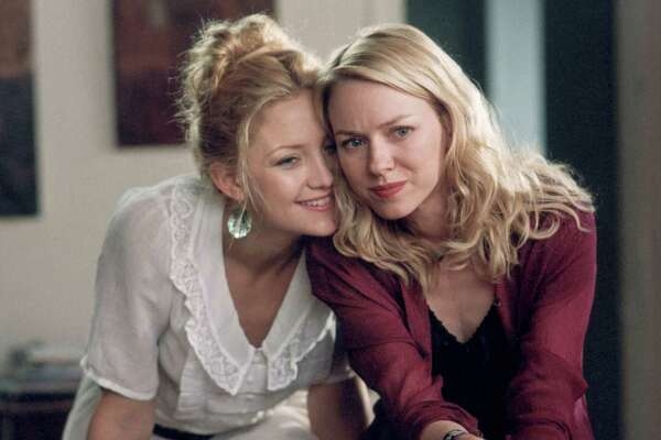 "Kate Hudson, left, and Naomi Watts portrayed sisters in ""Le Divorce."""