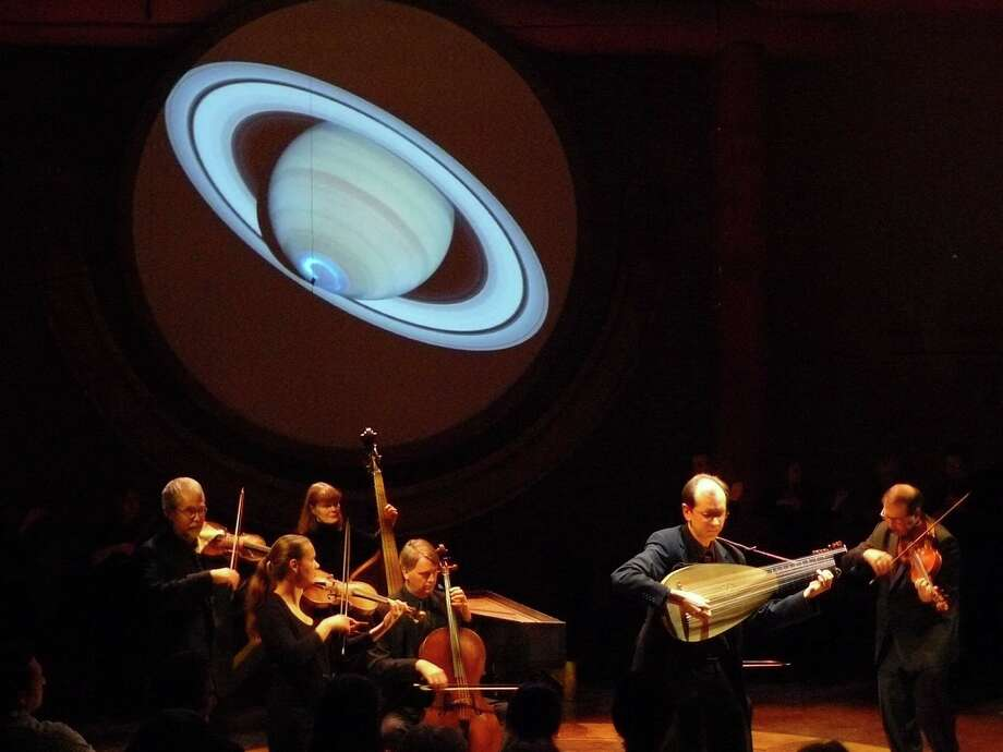 "The period-instrument ensemble Tafelmusik will bring its multimedia performance ""The Galileo Project: Music of the Spheres."" Photo: Cooper Smith"