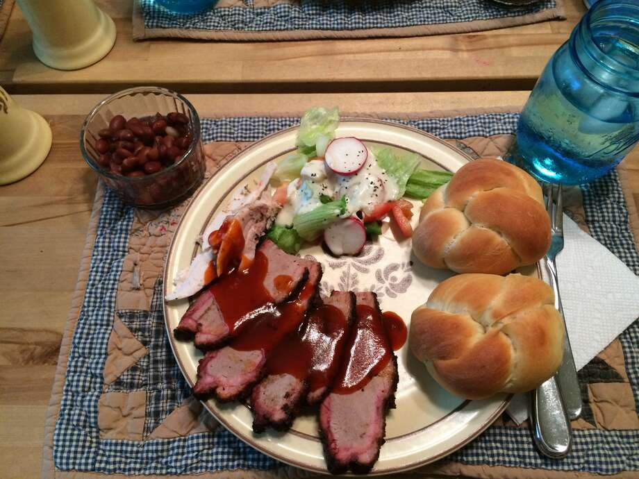 The brisket. (Cort McMurray.) Photo: Cort McMurray