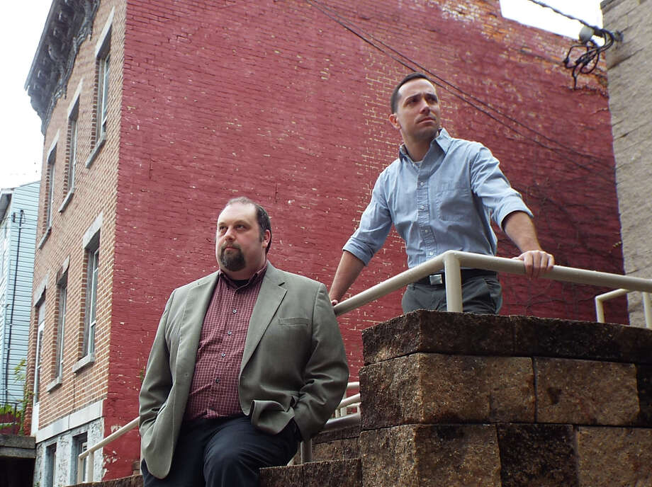 Ian LaChance and Aaron Holbritter in ?A Steady Rain.?   Credit: Creative License publicity photo Photo: Picasa