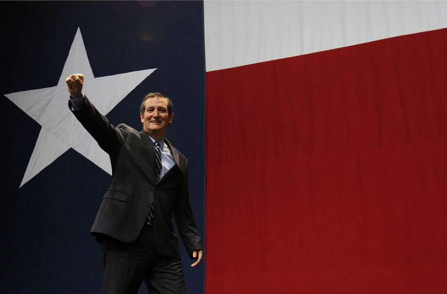 U.S. Sen. Ted Cruz celebrates with the audience at a GOP election night party in Austin on Tuesday. A reader celebrates, too, although he says that it will be up to the Republicans to act on their campaign positions. Photo: Kin Man Hui / Kin Man Hui / San Antonio Express-News / ©2014 San Antonio Express-News
