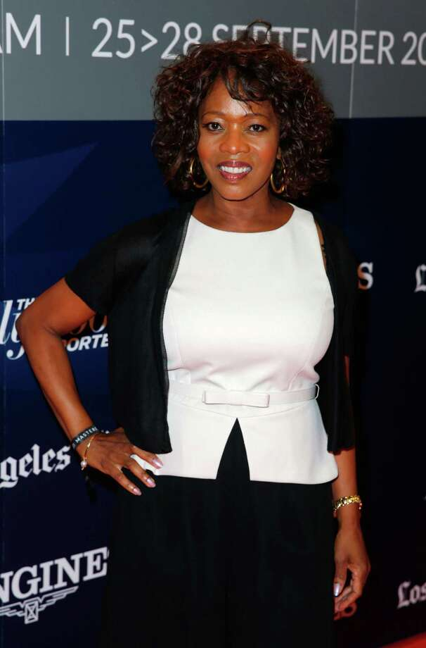 LOS ANGELES, CA - SEPTEMBER 27:  Actress Alfre Woodard arrives at the Longines Los Angeles Masters at Los Angeles Convention Center on September 27, 2014 in Los Angeles, California.  (Photo by Joe Scarnici/Getty Images for EEM World) ORG XMIT: 513937795 Photo: Joe Scarnici / 2014 Getty Images