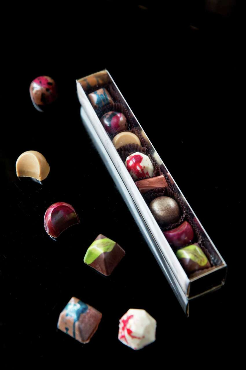SF Chocolates Collection from Kimberly Bugler, executive pastry chef at Union Squares Sir Francis Drake Hotel