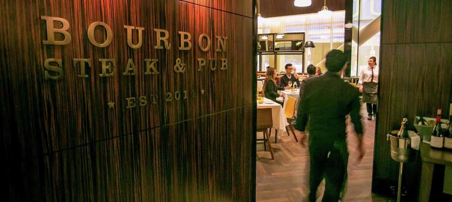 The interior of Michael Mina's Bourbon Steak & Pub, inside the new Levi's Stadium in Santa Clara. Photo: John Storey / Special To The Chronicle / ONLINE_YES