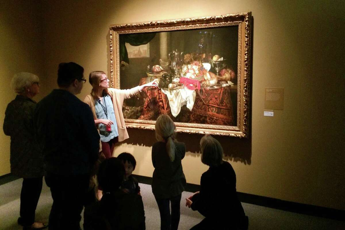 Programs such as the new family gallery tours at the Bruce Museum will be made possible through a recent $110,500 grant from the Steven & Alexandra Cohen Foundation.