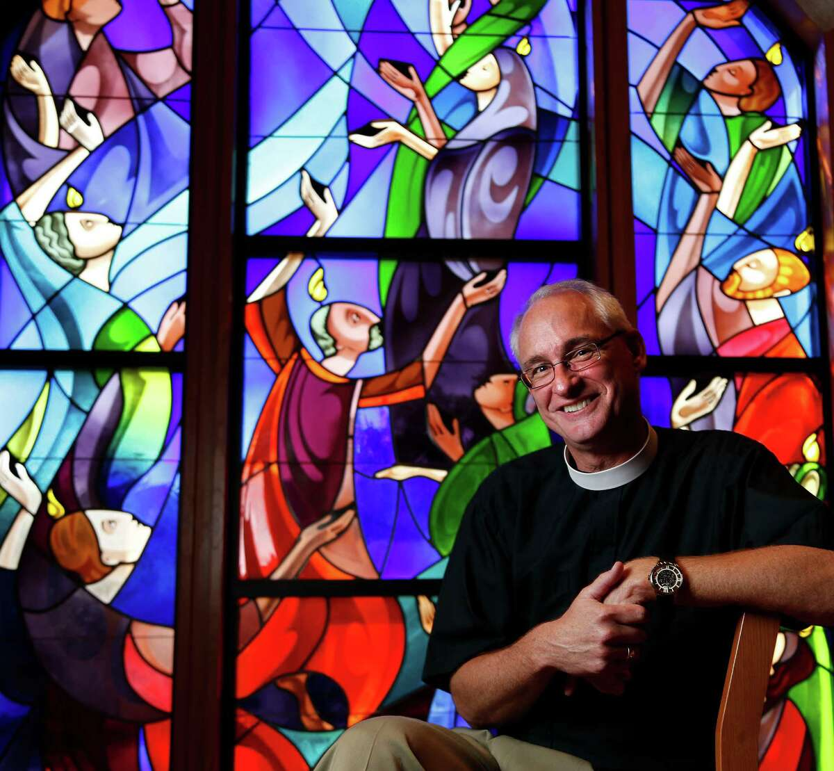 The Rev. Clay Lein said no the first time a search committee from St. John's Episcopal Church asked if he might be interested in becoming the Houston congregation's first new rector in 33 years.