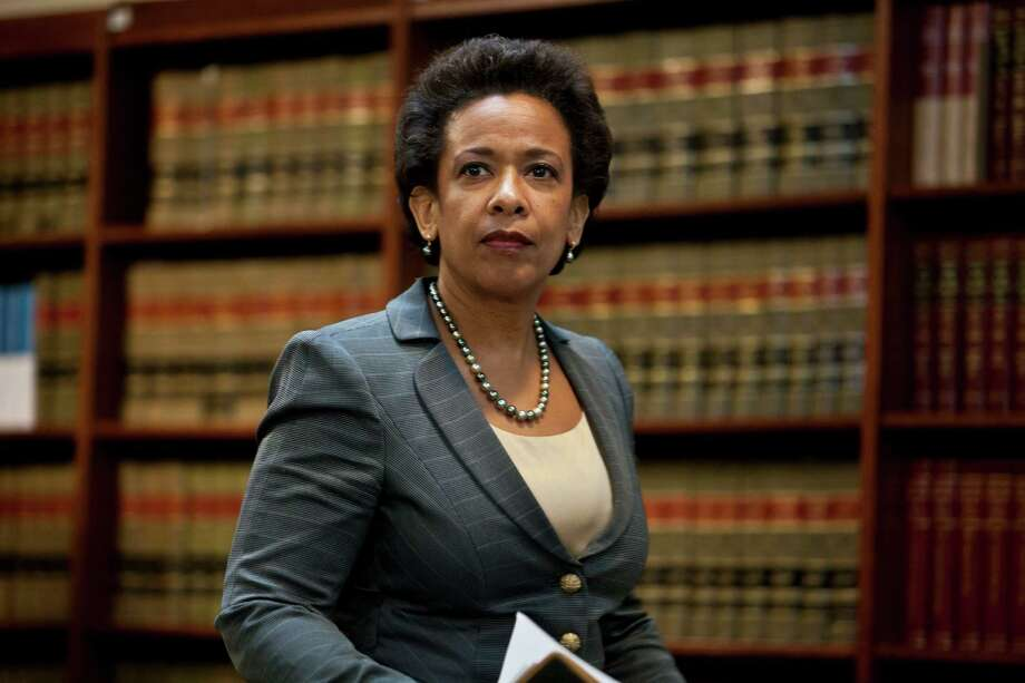 FILE - NOVEMBER 7: According to reports, Loretta Lynch, U.S. attorney for the eastern district of New York, is expected to be President Barack Obama's pick for US attorney general. NEW YORK, NY - DECEMBER 11: U.S. Attorney for the Eastern District of New York Loretta Lynch arrives for a news conference to announce money laundering charges against HSBC on December 11, 2012 in the Brooklyn borough of New York City. HSBC Holdings plc and HSBC USA NA have agreed to pay $1.92 billion and enter into a deferred prosecution agreement with the U.S. Department of Justice in regards to charges involving money laundering with Mexican drug cartels. (Photo by Ramin Talaie/Getty Images) ORG XMIT: 158357097 Photo: Ramin Talaie / 2012 Getty Images