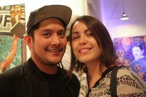 Spurs fans and art lovers had a great time during this Spurs-themed art show on Friday, November 7, 2014.