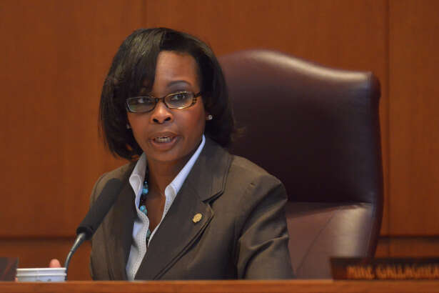 Mayor Ivy Taylor during Thursday's  city council meeting to approve the FY2015 budget.