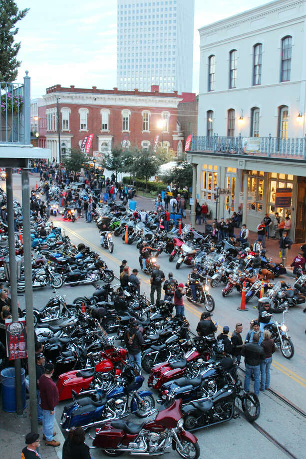 PHOTOS: Check out photos from a weekend of fun at Galveston Lone Star Rally... Photo: Jorge Valdez, For The Chronicle