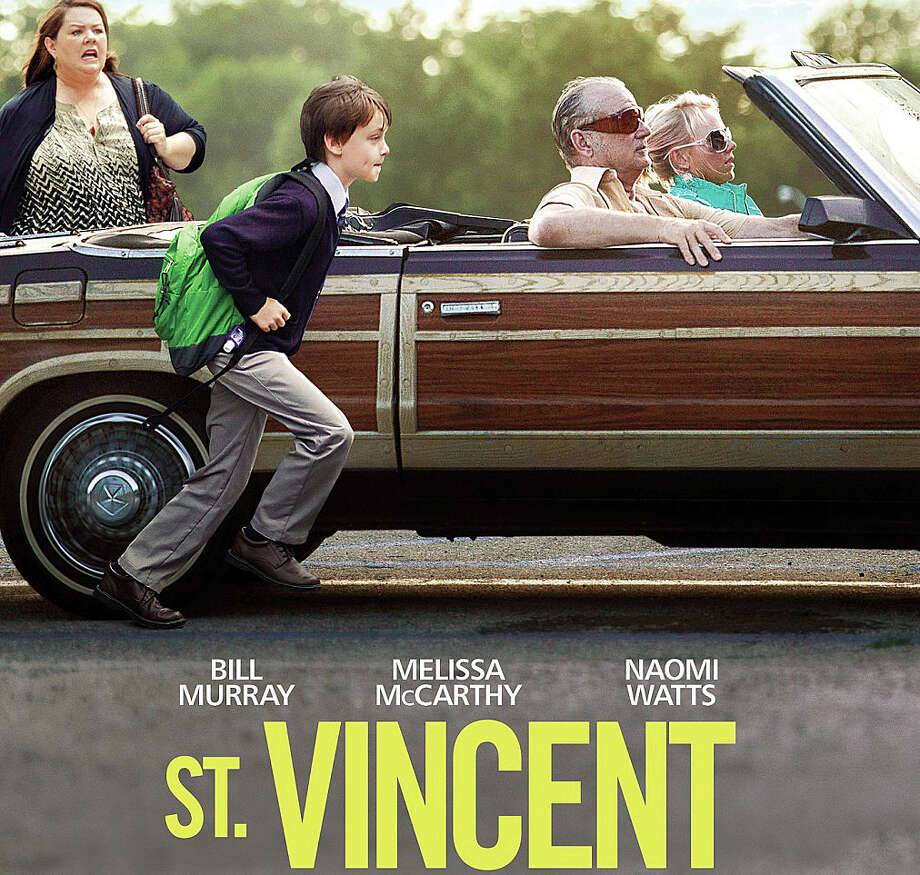 "The new movie, ""St. Vincent,"" stars Bill Murray and Melissa McCarthy. Photo: Contributed Photo / Westport News"