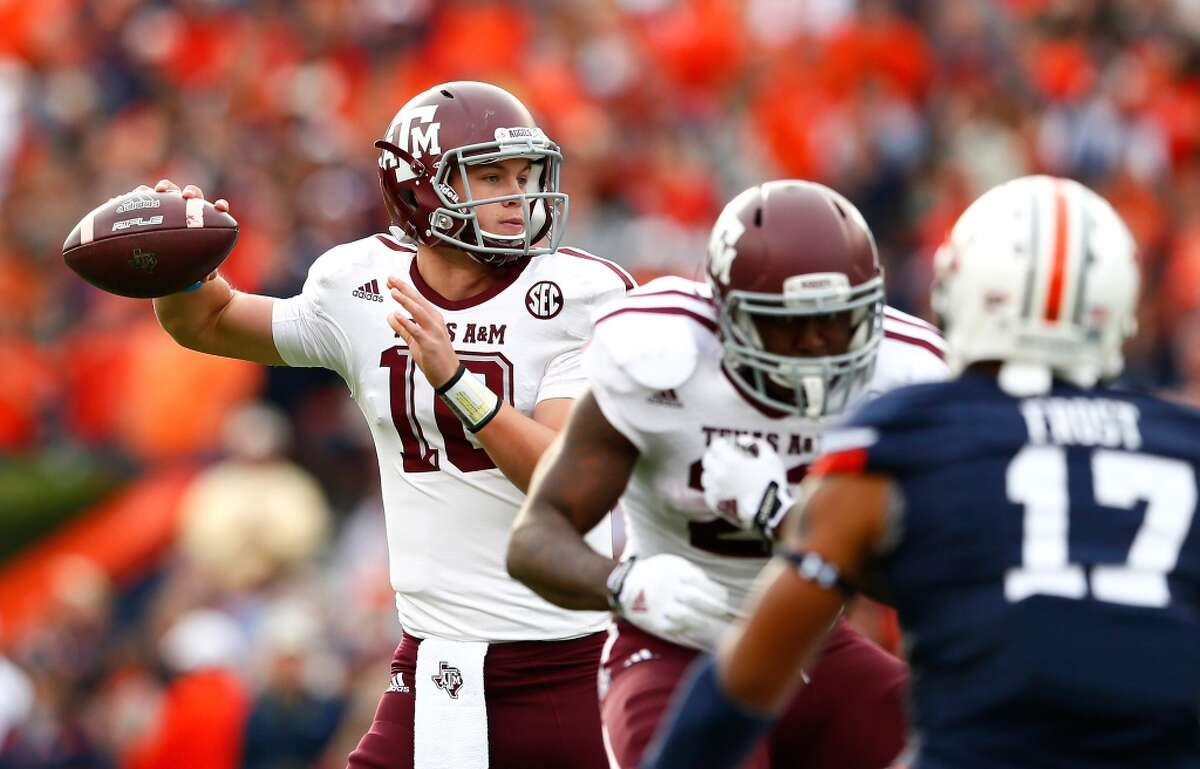 BEST WINS Nov. 8, 2014: Texas A&M 41, No. 3 Auburn 38 The Aggies snapped a three-game SEC losing streak with a huge win at heavily favored Auburn that ruined the Tigers' playof chances.